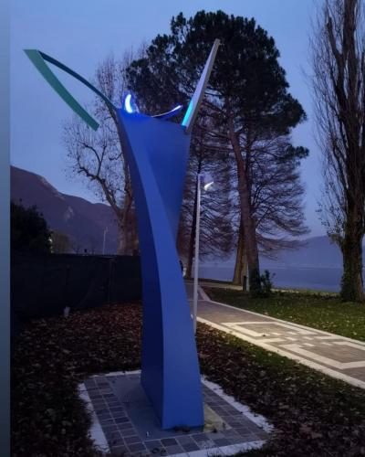 Installazione pubblica a Sarnico